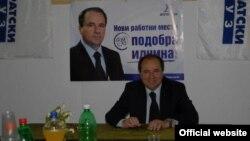 Павле Трајанов, лидер на Демократски сојуз.
