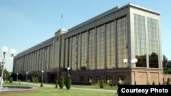 Uzbekistan - The building of the Cabinet of Ministers of Uzbekistan.
