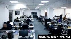 Офис «Азаттыка» в Бишкеке.