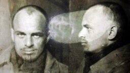 Юрий Грунин во время следствия. 1945