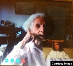 Sorana Ursu cu Olga Ștefan, în înregistrarea unei convorbiri pe Skype