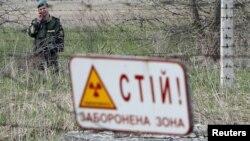 Černobil, zona od oko 30 kilometara oko Černobila potpuno je uništena, april, 2012.