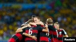Сборная Германии - в финале мундиаля