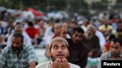 Pristalica Mohameda Morsija u Kairua