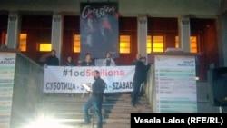 Protest u Subotici