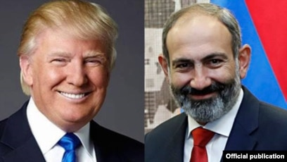 Trump says US supports desire of Armenian people to live in democratic country