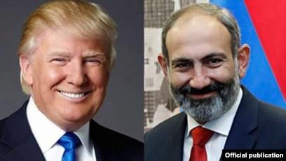 Трамп поздравил Пашиняна с Днем независимости Армении