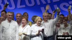 PSD s-a lăudat cu o prezență record la mitingul din iunie 2018, fiind o veritabilă demonstrație de forță în sprijinul fostului lider, Liviu Dragnea.