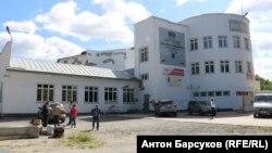 Снос кинотеатра в Новосибирске