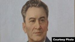 Динмухамед Кунаев, бывший первый секретарь ЦК Компартии Казахстана.