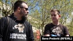 Sa jednog od skupova anti-NATO aktivista u Crnoj Gori