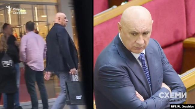 Серед гостей «Схеми» також помітили ще одного депутата від «Опозиційного блоку» Михайла Папієва