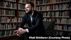 Belarusian-American political strategist Vitali Shkliarov (file photo)