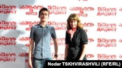 Эдуард Саакашвили с матерью