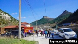 Pamje nga një vendbanim në Krime