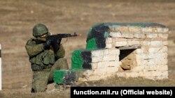 Российские военные в Крыму, иллюстрационное фото