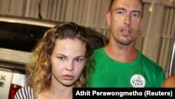 Анастасія Вашукевич та Олександр Кирилов, архівне фото
