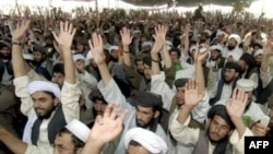 Taliban supporters in Pakistan. (file photo)