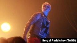 Кийт Флинт по време на концерт в Москва през 2016 г.
