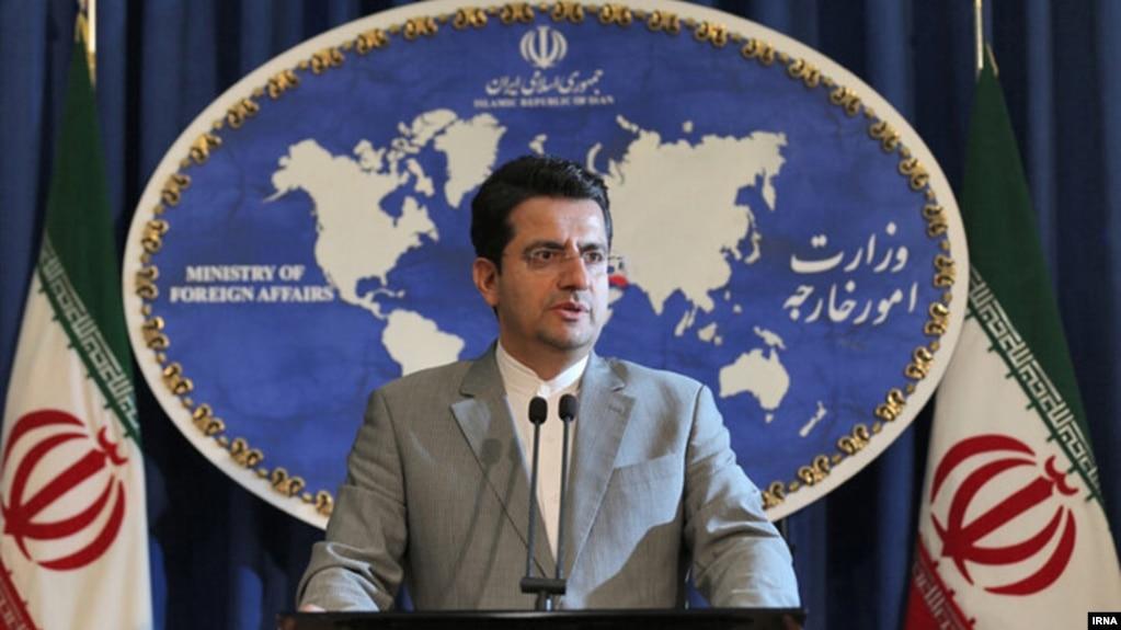 عباس موسوی، سخنگوی وزارت امور خارجه جمهوری اسلامی
