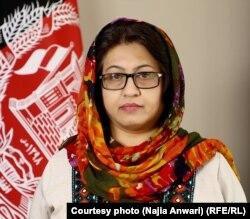ناجیه انوری، سخنگوی وزارت دولت در امور صلح