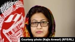 ناجیه انوری سخنگوی وزارت دولت در امور صلح