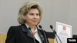 Татьяна Москалькова в Госдуме, 22 апреля 2016 года