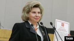Тетяна Москалькова в Держдумі Росії, 22 квітня 2016 року