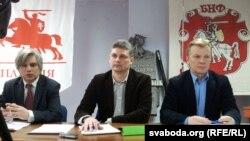 Ігар Лялькоў, Юрась Губарэвіч, Віталь Рымашэўскі