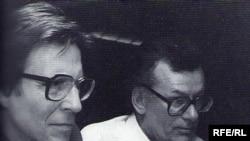 Юрий Шлиппе и Кронид Любарский на Радио Свобода
