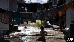 Лагерь для перемещенных лиц в Ираке (архивное фото)
