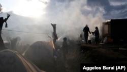 Migrantët në Greqi. Foto nga arkivi.