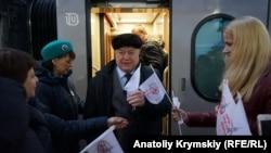 Moskova poyezdi Aqmescitte,2019 senesi, dekabr 26