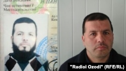 "Lutfullo Bobobekov, who was made to shave off his ""overly long and unkempt"" beard by Khatlon police."