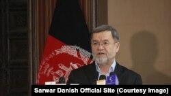 سرور دانش معاون دوم رئیس جمهوری افغانستان