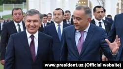 Джахонгир Артикходжаев (справа) был назначен хокимом Ташкента в апреле этого года. До этого он работал Артыкходжаев работал директором компании «Артель инжиниринг» и руководил ГУП Tashkent City. Является основателем компании Akfa.