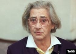 Елена Боннер, 1998. Фото: ТАСС