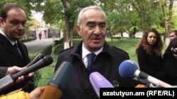 Спикер парламента Армении Галуст Саакян, Ереван, 27 октября 2016 г.