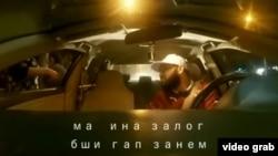 Snimak iz video izvještaja koji se brzo proširio na tadžikistanskim web stranicama.