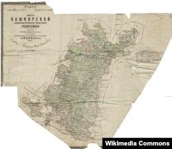 1920 елгы Башкортстан харитасы