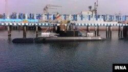 زیردریایی جدید ساخت ایران به نام «فاتح» ( عکس از آرشیو)