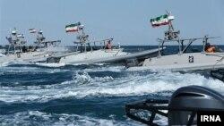 قایقهای تندور سپاه در خلیج فارس