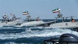 قایقهای تندرو سپاه در خلیج فارس (عکس از آرشیو)