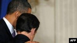 Barak Obama i Nikola Sarkozi, Vašington, mart 2010.