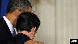Presidenti i SHBA-së, Barak Obama, dhe presidenti në largim i Francës, Nikolas Sarkozi - foto arkiv.
