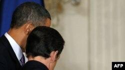 Barak Obama və Nikola Sarkozi - 30 mart 2010