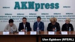 Пресс-конференция потерпевших по делу Канжара Кадыралиева. 13 ноября 2015 года.