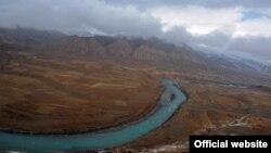 Река Нарын. Кыргызстан.