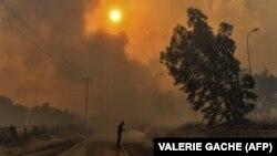 За останніми даними, щонайменше 60 людей загинули через лісові пожежі біля столиці Греції