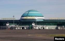 Международный аэропорт имени Нурсултана Назарбаева в Астане